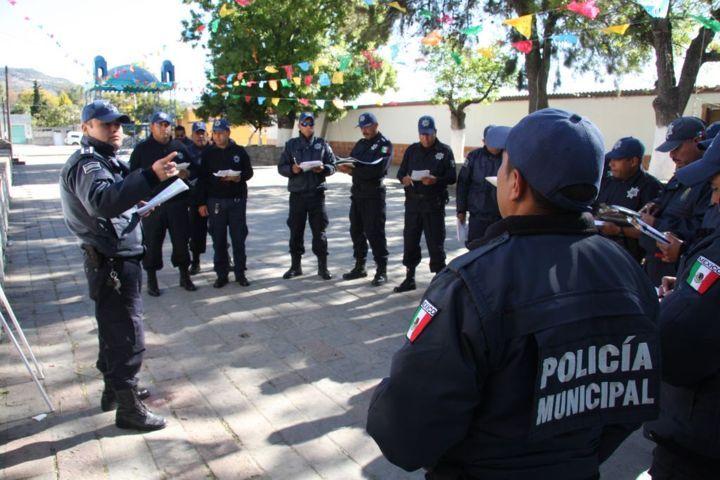 Continúan capacitación policías de Totolac en el nuevo sistema penal acusatorio