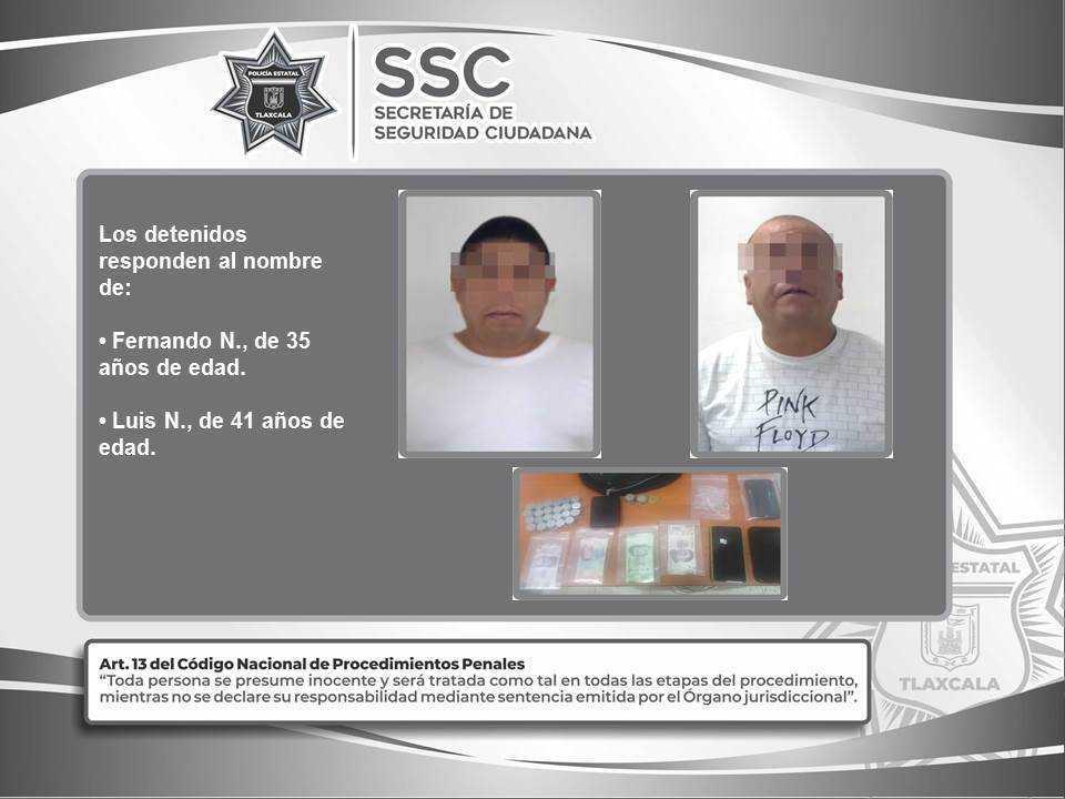 Detienen a dos personas con dinero falso en Ixtacuixtla