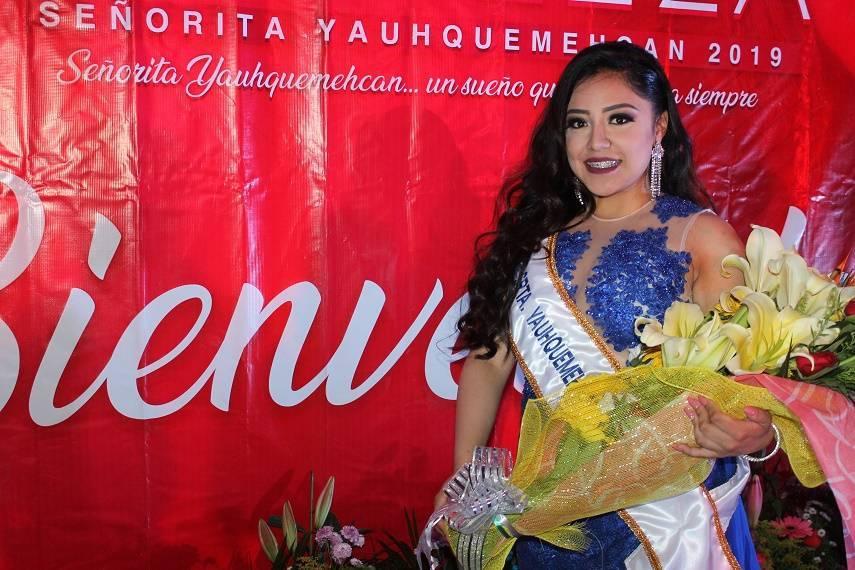 La Feria de Yauhquemehcan 2019 ya tiene reina será Grecia María