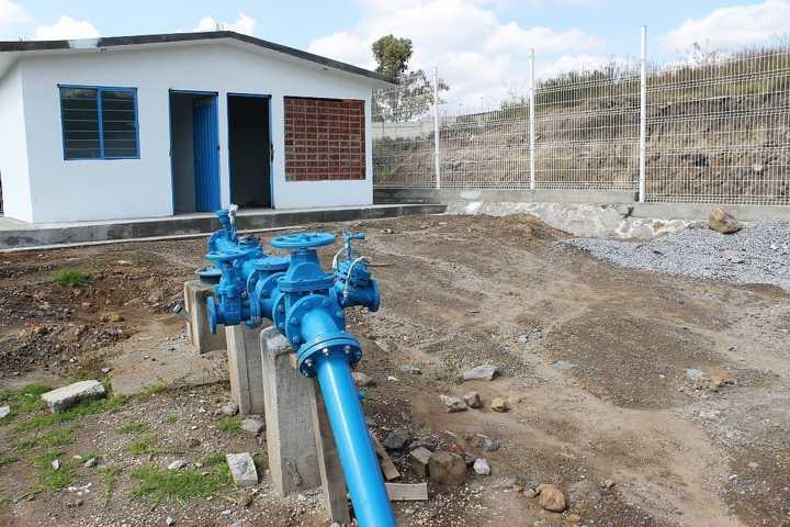 El pozo de agua de la Cantera beneficiara a la población de Zimatepec: AER