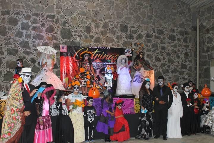 Ayuntamiento preserva las tradiciones con el 1er concurso de catrinas