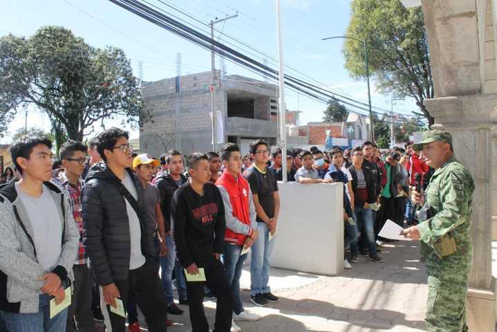 Villarreal Chairez garantizo la legalidad al Sorteo Nacional Militar