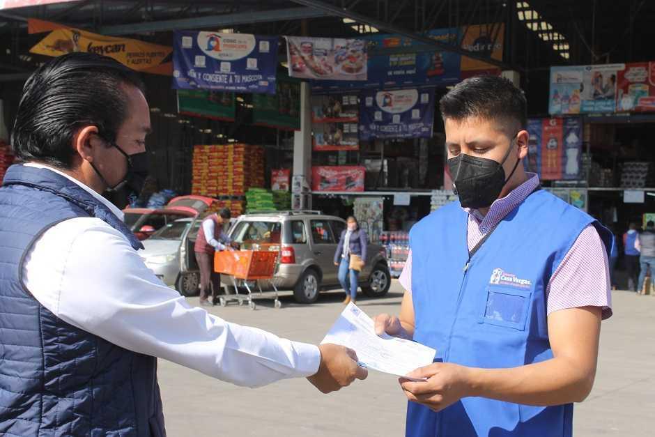 Yauhquemehcan refuerza medidas sanitarias ante semáforo naranja