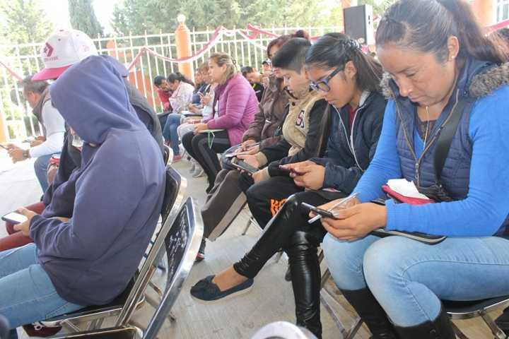 En Yauhquemehcan se pone en marcha aplicación móvil en la secundaria 37