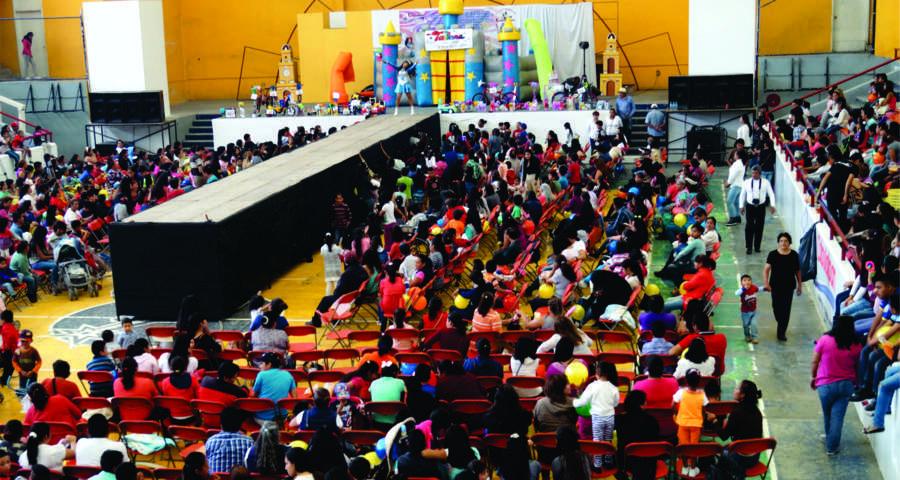 Magno Festejo a los Niños en Calpulalpan