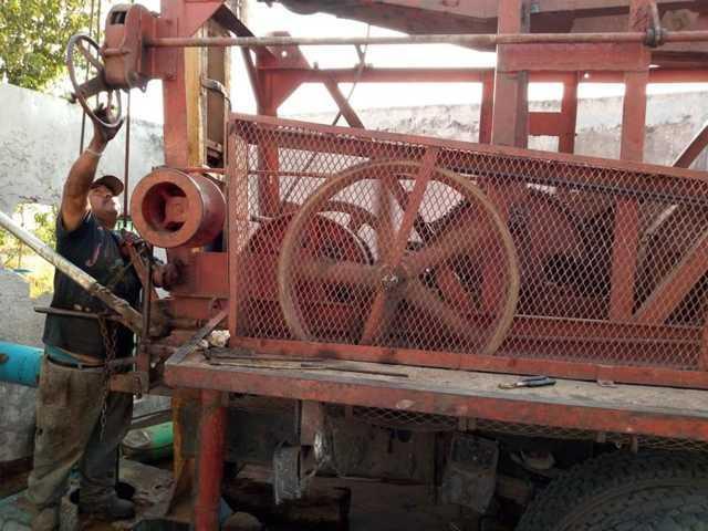 Lista la bomba de agua potable en Quilehtla, se reanuda el servicio