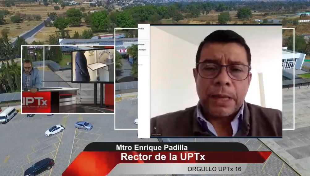 Estamos preparando en la Uptx a los mejores ciudadanos de Tlaxcala: Enrique Padilla