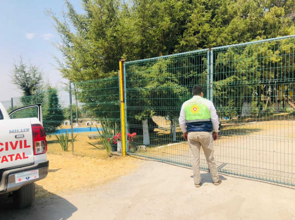 Supervisa CEPC que balnearios en la entidad permanezcan cerrados como medida preventiva