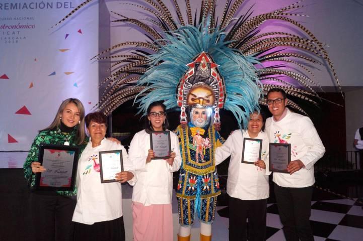 Premian a ganadores del Sexto Concurso Nacional Gastronómico ICAT 2018