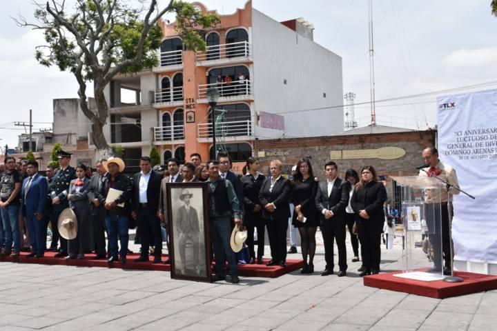 TOA encabezo conmemoración del 101 aniversario de Domingo Arenas