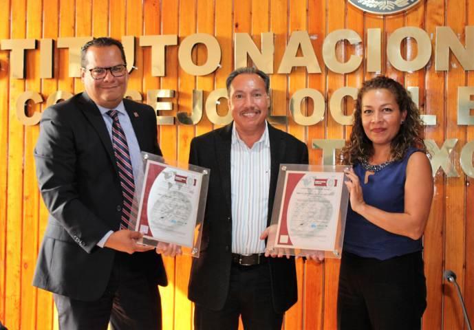 Por tercera vez, INE tlaxcala recibe certificado de calidad en el servicio de los MAC