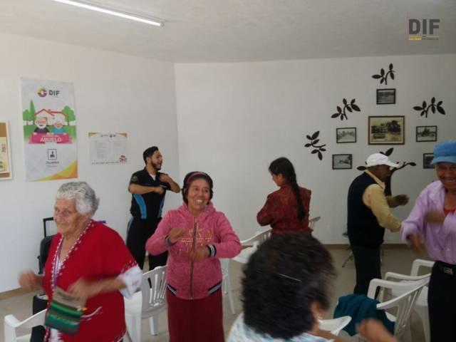 Con diferentes actividades mejoramos la calidad de vida de los abuelitos: SCH