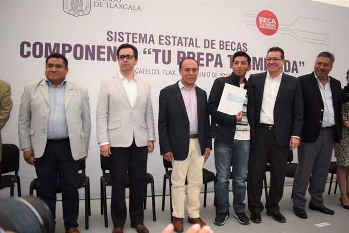 Tu Prepa Terminada beneficio a 650 jóvenes de Zacatelco