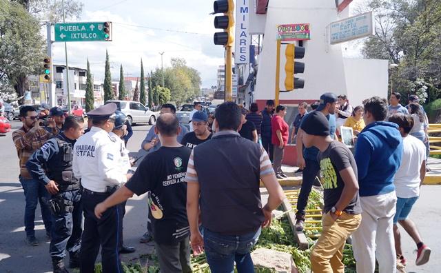 Llegan policías y militares a la Unidad Santa Cruz para adjudicarse predio