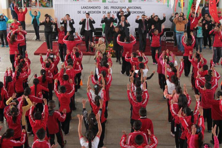 Tlaxcala se suma a estrategia nacional para medir la capacidad funcional de alumnos