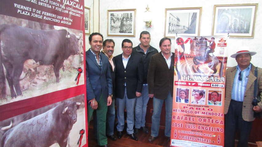 Presentan toros para la corrida del 17 de Febrero