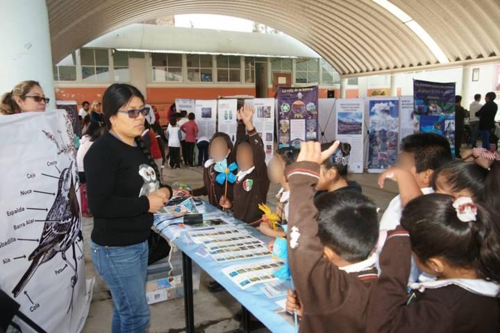 Socializa UATx investigaciones sobre biodiversidad y su conservación a infantes