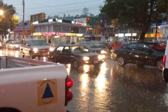 Activa CEPC plan de atención por lluvia en Tlaxcala
