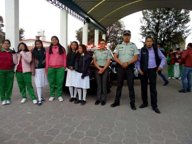 Policía Federal y SMDIF Ixtenco imparten pláticas para prevenir acoso escolar