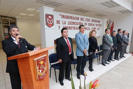 Inician actividades de aniversario de la Licenciatura en Ciencias Políticas y Administración Pública