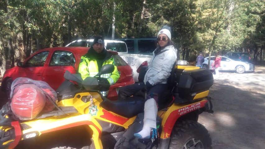 Policía de montaña auxilia este fin de semana a tres personas