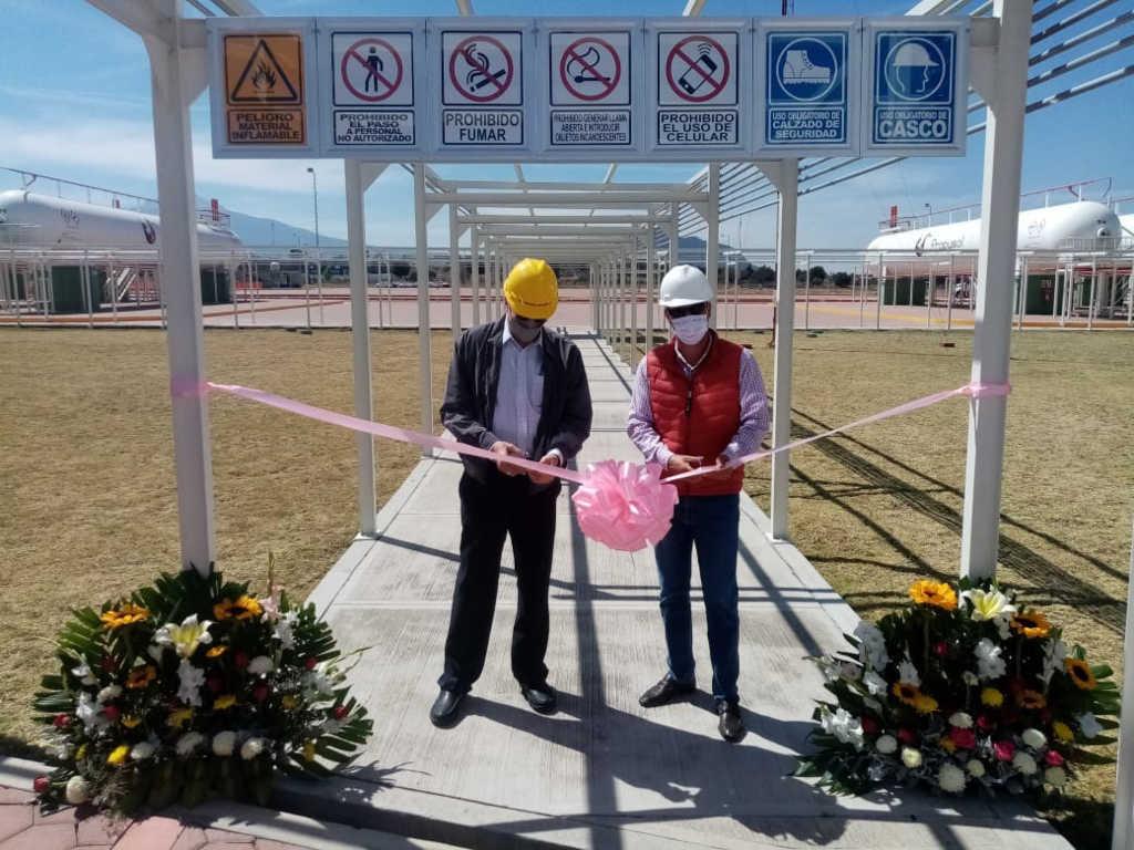 Inaugura Sedeco nueva planta de la empresa Propysol en Xaloztoc