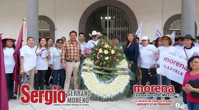 MGZ mete mano en marcha contra la inseguridad en Zacatelco