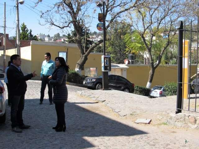 Supervisa la presidenta municipal las principales calles de la Ciudad Capital