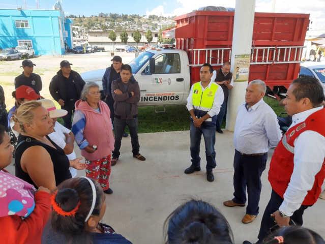 Distribuye CEPC insumos a familias de Teacalco