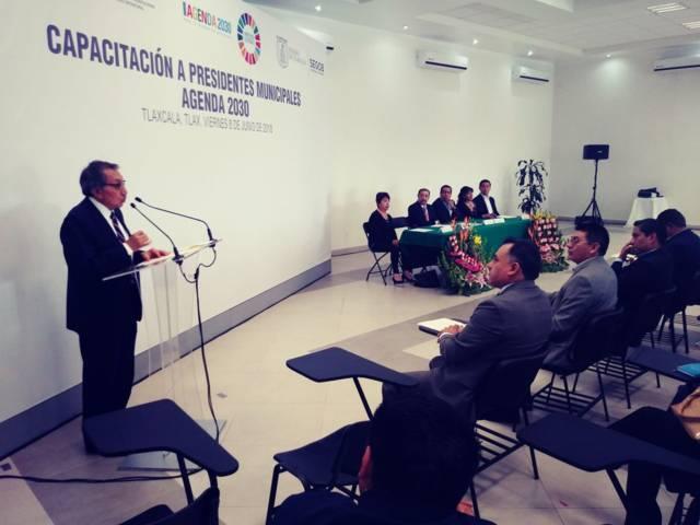 Ayuntamiento de Huactzinco se suma a la Agenda 2030 por un Desarrollo Sostenible