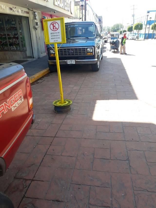 Ayuntamiento retirara objetos para evitar apartados sobre las calles