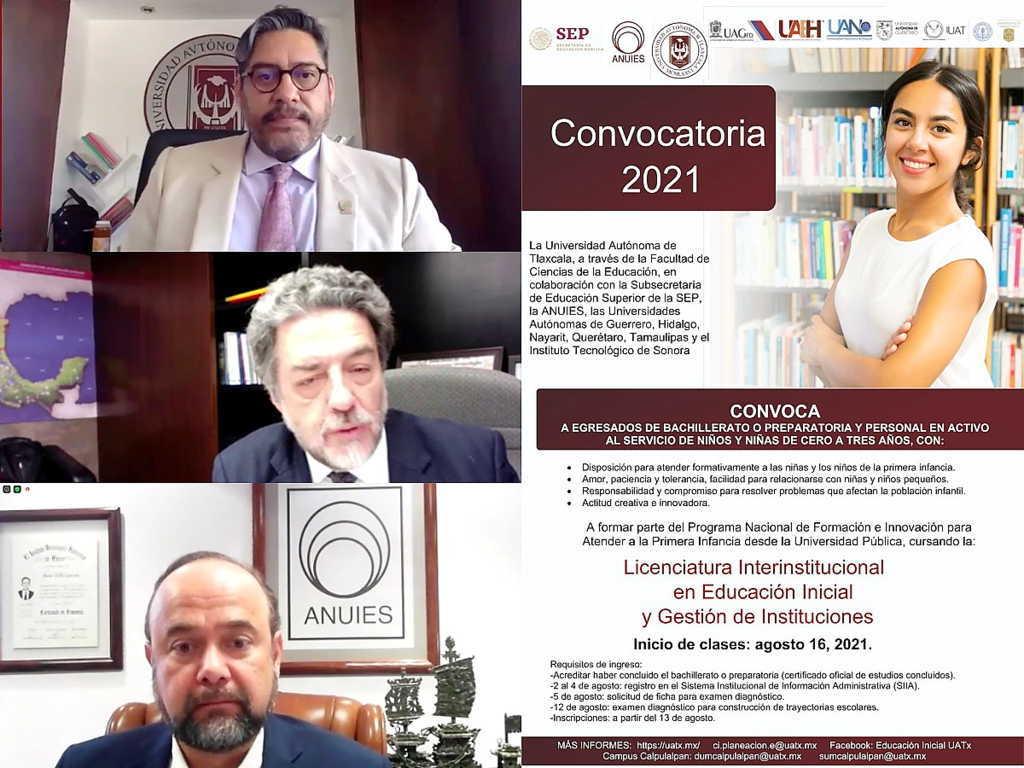 Por iniciar la Licenciatura en Educación Inicial y Gestión de Instituciones en la UATx