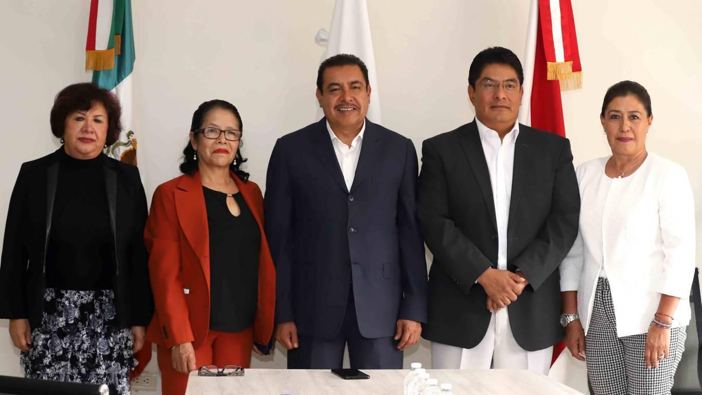 Atestigua SEPE nombramiento de Roberto Núñez Baleón como director del Conalep