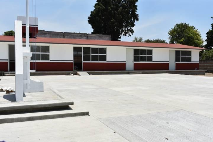 Avanza a paso firme la construcción de nuevo preescolar en Xochicalco Zacatelco