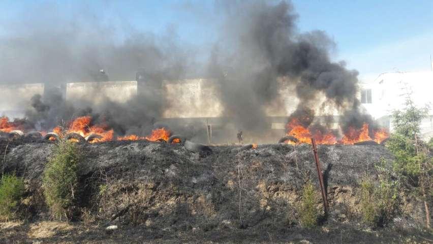Sofoca Protección Civil capitalina 31 incendios en pastizales en lo que va del año