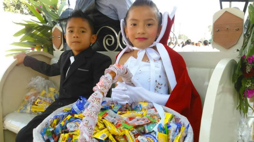 Recibe con fiesta municipio de Quilehtla a la primavera