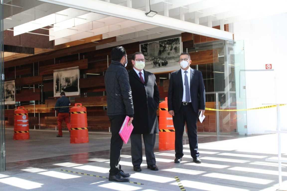 Supervisa Bernal Salazar medidas de sanidad en Ciudad Judicial