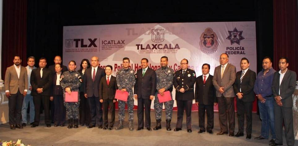 Trabajarán Icatlax y gendarmería en capacitación sobre informe policial y cadena de custodia