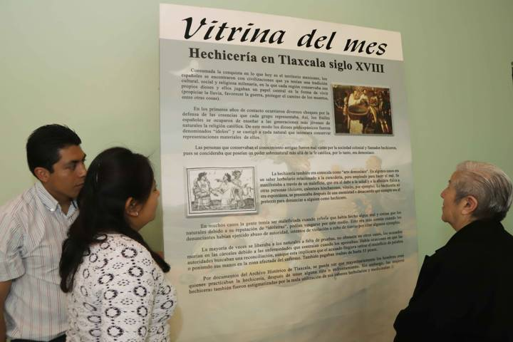Dedican vitrina del mes a la hechicería en Tlaxcala