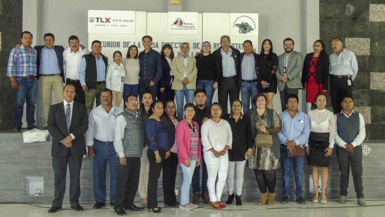 Participa SESA en reunión de la red tlaxcalteca de municipios por la salud