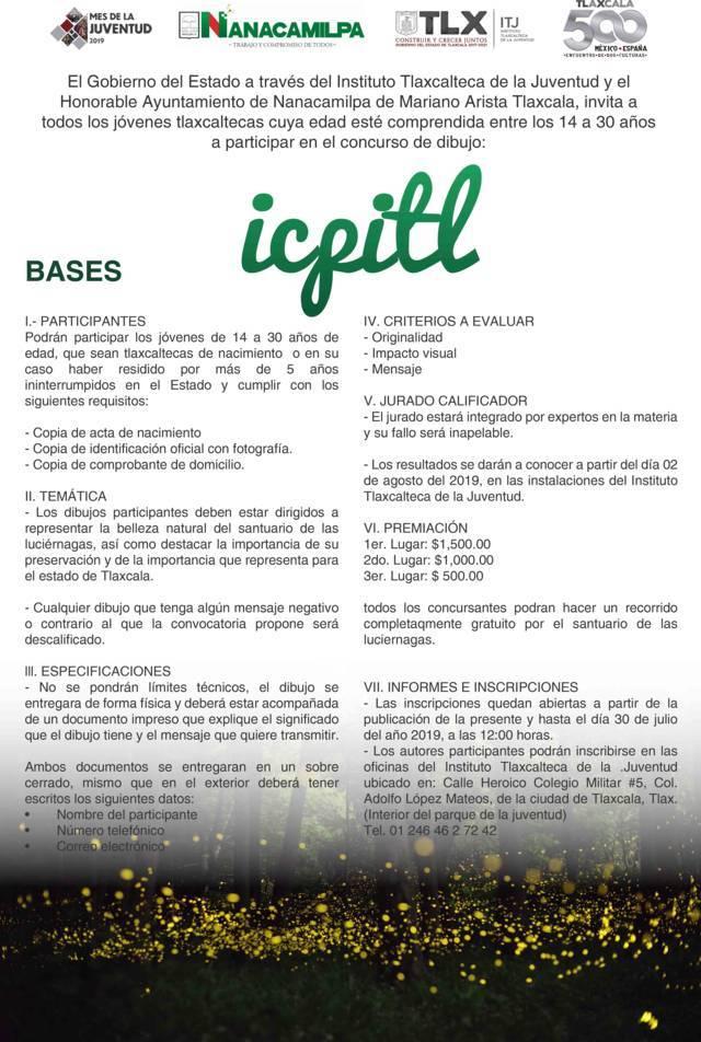 Invita ITJ a participar en concurso de dibujo sobre el santuario de las luciérnagas