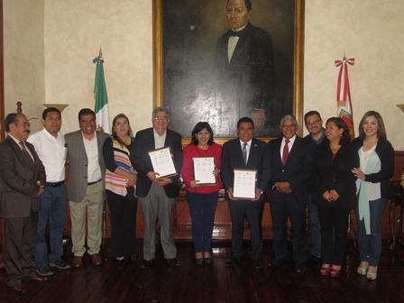Impulsarán educación Ayuntamiento de Tlaxcala y el SNTE