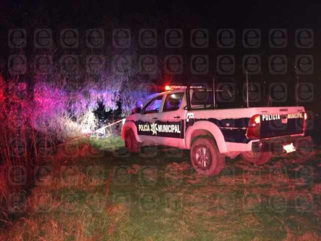 Encuentran ejecutado de un tiro y embolsado en Tetlatlahuca
