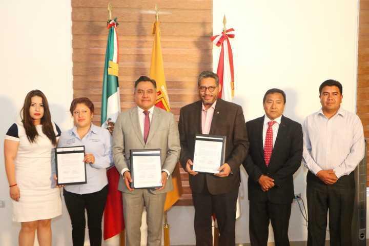 Activan vínculos de trabajo colaborativo la UATx y el Ayuntamiento de Tetla