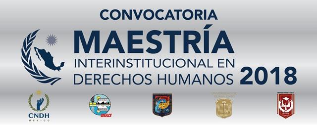 Convoca UAT a cursar Maestría Interinstitucional en Derechos Humanos