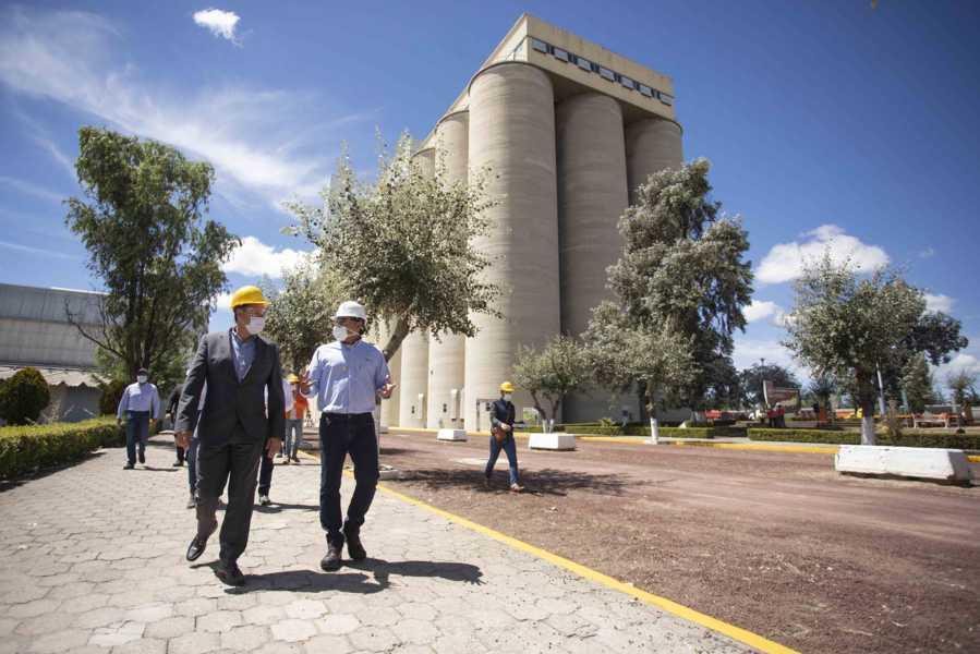 Inaugura Sedeco ampliación de planta secadora de cebada de Grupo Modelo en Calpulalpan