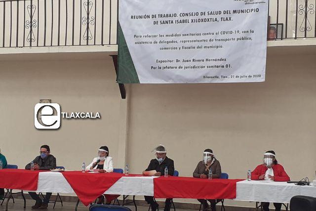 Consejo de Salud de Xiloxoxtla endurece medidas contra el Covid-19