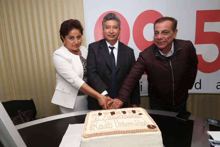 Celebró Radio Universidad su XVI Aniversario