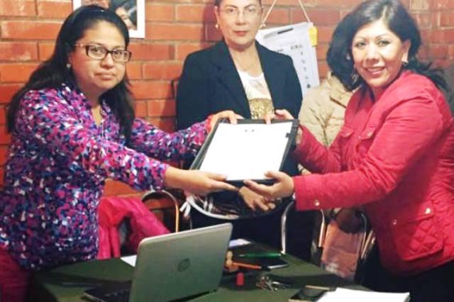 Recibe Avalos del ITE constancia como alcaldesa electa de Tlaxcala