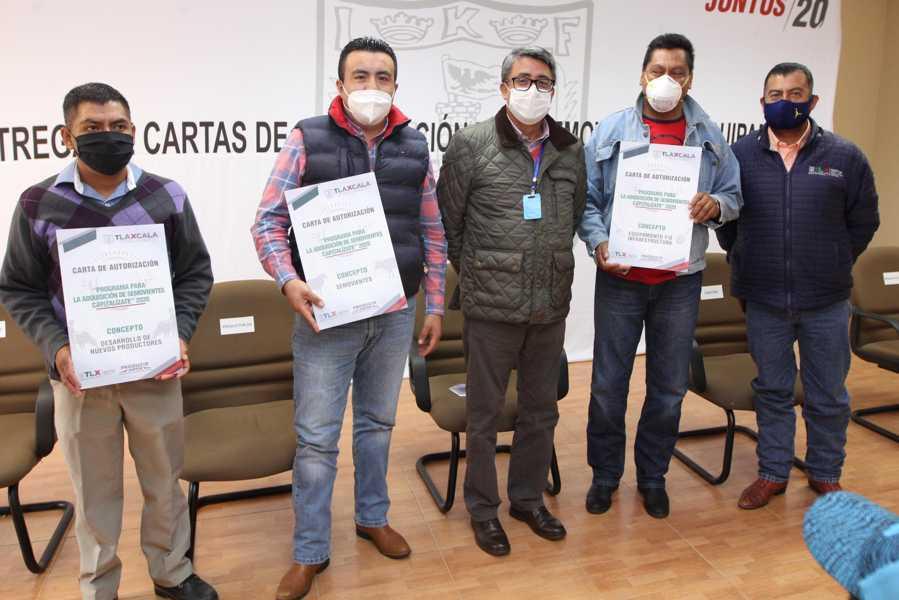 Invierte Sefoa más de 3.2 mdp en beneficio de ganaderos tlaxcaltecas